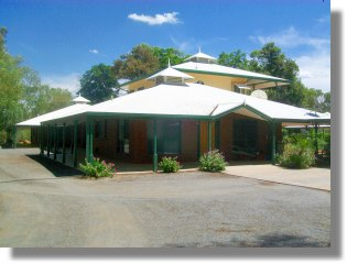 Einfamilienhaus im Outback Australiens bei Alice Springs